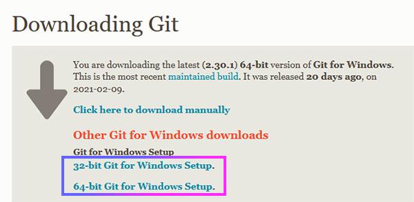 Git для Windows 10